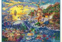 Thomas Kinkade - The little mermaide