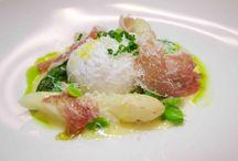 Asparagus in wine sauce