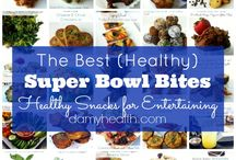 Guilt-Free Super Bowl Snacks / Don't let playoff parties derail your weight loss and nutrition goals! Swap traditional high-cal snacks for these healthy options. / by Diet-to-Go