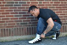 Heyday Footwear Bodybuilding/Fitness Sneakers / Competitive bodybuilders and fitness fanatics of all levels wearing Heyday Footwear performance sneakers