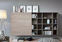 Novamobili wandmeubels / Novamobili wandmeubelen. Inspiratie voor een mooi TV wandmeubel of design boekenkast