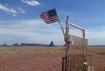 The Flag / One of the things that amazed me during my trip across USA, was Stars and Stripes founded everywhere.