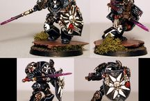 Miniature painting / warhammer 40000 miniatures painting