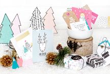 Snow and Cocoa / Enjoy the festive delights of the winter season with Snow & Cocoa by Crate Paper. Capture winter adventures with icons of snowflakes, cheerful snowmen, and cute trees. Send snowflake kisses in a pleasing palette of pretty pinks, frost blue, and sunny yellow. Create beautiful projects with a host of coordinating, versatile embellishments. Experience the wonders of winter with Snow & Cocoa!