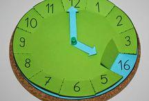 Matek idő tanítása