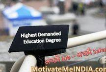 5 Highest Demanded Education Degree