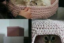 Casita para gatitos