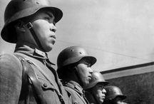 "China at War / Sino-Japanese War 1937 - 1945 ""A war that Chinese will never forget."" Barbara W. Tuchman / by Ki Ling Cheung"