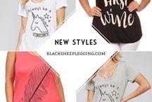 Summer Tops ! #blacksheeplegging