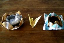 Origami / Trabajos manuales con técnica de origami