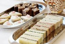 Five o'clock Tea / Ideas para el taller sobre el afternoon tea: sandwiches, scones, mermeladas, etc