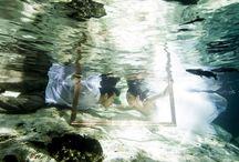 アンダーウォーターウェディング|Under Water Wedding / 水中撮影されたアンダーウォーターの美しい写真「トラッシュ・ザ・ドレス」を特集☆ Beautiful under water wedding photo shoots.