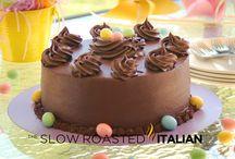 Cakes, pies & Squares (brownies)