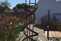 Sculptures / Andrew Kaspar sculpture at 100 Hitchcock Ave Barwon Heads ( Holiday Rental Property)