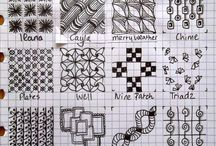 SQUARED PAPER PATTERNS