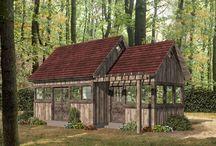 Shed Plans / Backyard Shed Plans, Garden Shed Plans, Storage Shed Plans
