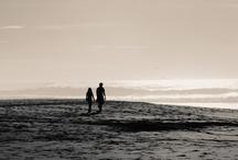 the sea...