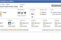 Forecast / by University of South Florida Botanical Gardens