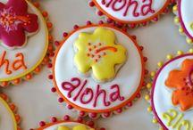 Moriahs 1st Birthday - Hawaiian Luau