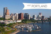 Portland, Seattle, Canada