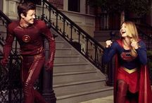 the flash vs supergirl
