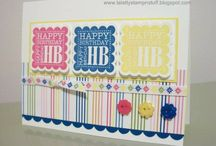 Birthday Stamps I have / by Elizabeth Challenor-Reese