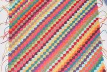 crochet en diagonale
