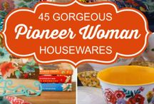 Pioneer Woman Dishes - Gorgeous!