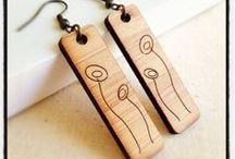 gioielli legno