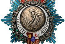 Medailles..Honours..Breast Star.
