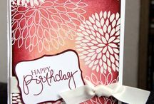 Cards - Heat embossing