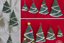 Merry Christmas & Happy New Year crochet / Interesting ideas for crochet