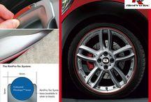 Mini / Mini have some great looking wheels #rimpro-tec  # wheel bands