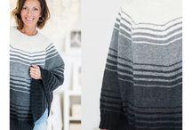 Strikking/knitting.