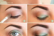 Green Eyes Makeup