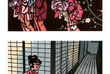 日本の切り絵