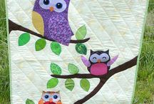 Quilts: Child Theme, Owls / by Carmen Martinez