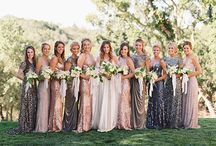 Metallic Wedding Inspiration / 2016 Wedding Trends / 2017 Wedding Trends.  The metallic wedding trend isn't going anywhere - here's how to use metallics in your wedding decor - tastefully and creatively!