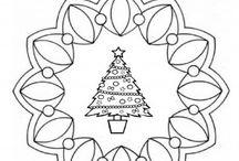 Mandalas Navidad