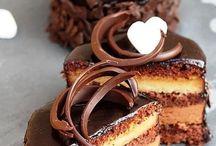 Recette de gâteaux, tartes. mousses et glaçage