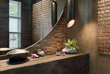 Banheiros, nichos e bancadas