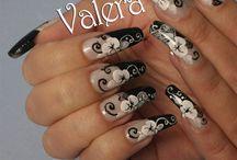Nail art by Valera