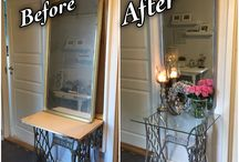 Furniture makeovers- Made by me / Home decor ideas