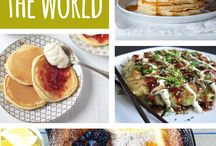 Pancakes from around the world / pancakes
