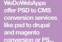 PSD To CMS Conversion Services