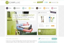 Online Shops / A collection of classy, quirky website designs for online shopping.... Clever checkouts and Product displays!