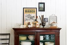 Farmhouse Vignettes / Beautiful and stylish farmhouse vignettes