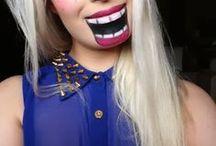 Halloween makeup / tips til hvordan du kan sminke deg til Halloween