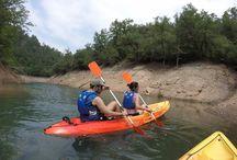 Gincana en kayak / Para eventos de empresa.