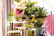 Bien jardiner / Petites et des grandes idées pour les balcons